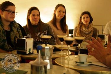 Coffee Workshop for the Food Studies Program (Perugia)