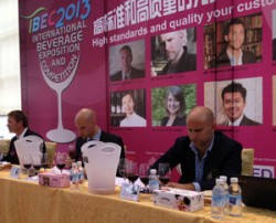 Dario Parenti at the IBEC in China.