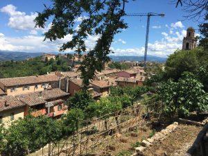 Orto Sole in Perugia Umbra Institute urban garden project